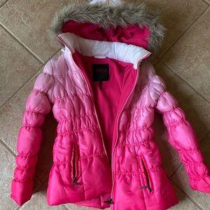 Girls size M (8-10) Pink Jacket
